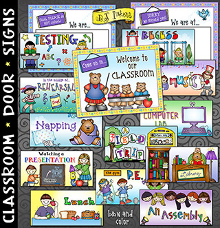 Classroom Door Signs Printables Download