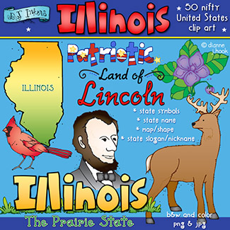 Illinois USA Clip Art Download