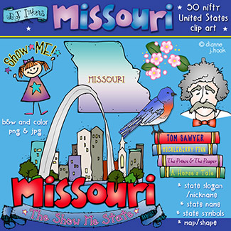 Missouri USA Clip Art Download
