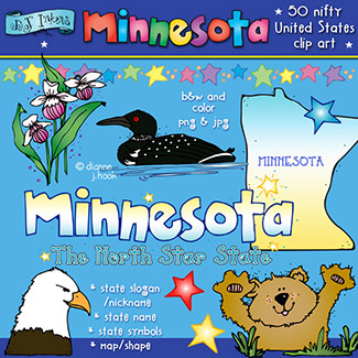 Minnesota USA Clip Art Download