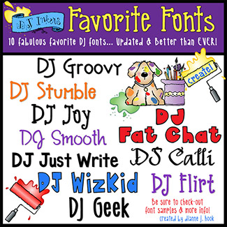DJ Favorite Fonts Collection Download