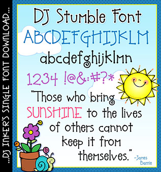 DJ Stumble Font Download