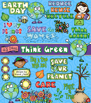 Think Green Clip Art Download