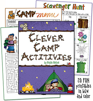 Clever Camp Activities Printables Download