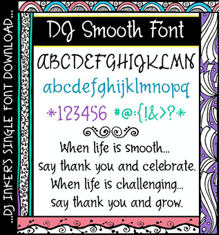 DJ Smooth Font Download
