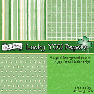 Lucky YOU Digital Backgrounds Download