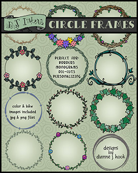 Circle Frames Clip Art Download