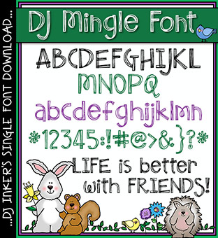 DJ Mingle Font Download