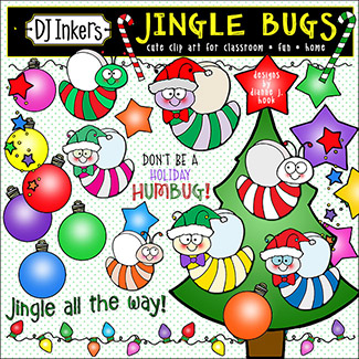 Jingle Bugs Clip Art Download -NEW!