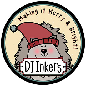 DJ Inkers Holiday Button