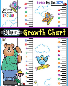 Kids Growth Chart Printable Download -NEW!