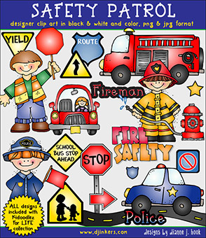 Safety Patrol Clip Art Download -NEW!