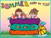 Summer smiles to you from DJ Inkers - made with Summer Kids clip art