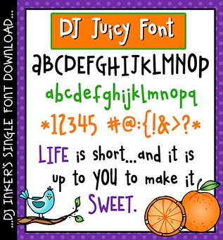 DJ Juicy Font Download -NEW!