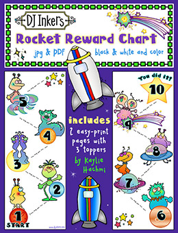Rocket Reward Chart Printable Download -NEW!