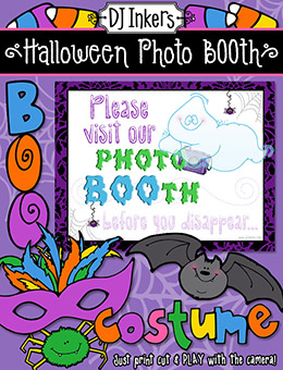 Halloween Photo Booth Printable Download