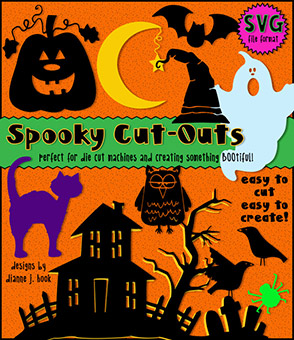 Spooky Cut-Out Collection - Halloween SVG Files