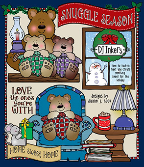 Snuggle Season Clip Art Download