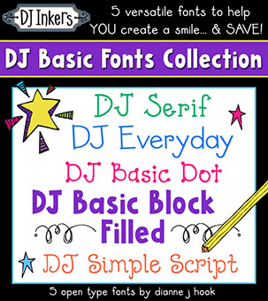 DJ Basic Fonts Collection Download