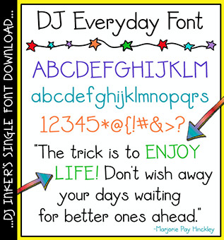 DJ Everyday Font Download