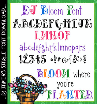DJ Bloom Font Download